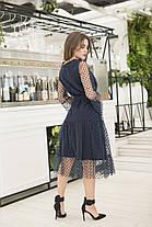 Платье миди в расцветках 36420, фото 3