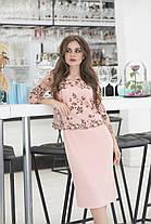 Верх плаття вишивка в кольорах 36422, фото 2
