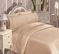 Комплект постельного белья евро «Detay Home collection» хлопок-сатин