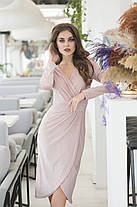 Сукня люрекс в кольорах 36423, фото 3