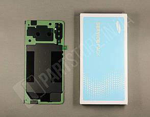 Cервисная оригинальная задняя Крышка Samsung A750 Black A7 2018 (GH82-18103A), фото 2