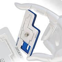 Mechanic 3D BGA Ремонт трафарета для реболлинга Инструмент для iPhone X материнских плат среднего уровня A12 PCB Groove Посадка олова шаблона -