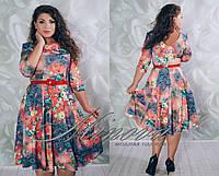 Платье Галерея  (размеры 50-56)