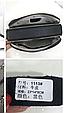 Сумка в форме коробочки с украшением / натуральная кожа арт. кт-954 Бордовый, фото 7