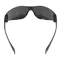 12Pcs Безопасность Очки мотоцикл Защитные очки для езды на велосипеде Дым Объектив Безрамный - 1TopShop, фото 3