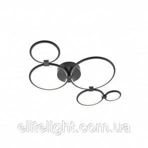 Потолочный светильник REDO 01-1858 RADIUS Black + Dimmable