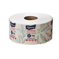 """Туалетная бумага """"Papero""""Джамбо, 2-х слойная, MINI, целлюлозная, белая, 50 м , 6 шт./уп. (арт.10002)"""