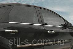Окантовка стекла наружная Ford Focus 2 (2005-2011)