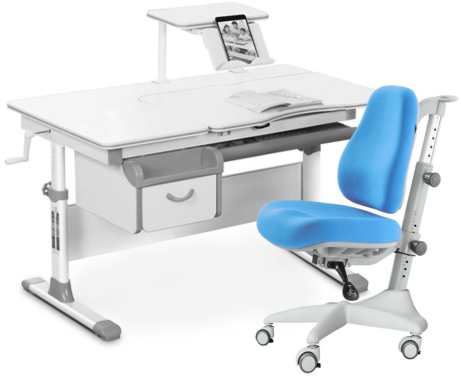 Комплект парта Evo-kids Evo-40 G + кресло Y-528 KBL