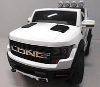 Электромобиль детский Cabrio LONG с колёсами EVA и кожаным сидением ( електромобіль дитячий )