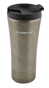 Термокружка Starbucks 500 мл металлическая Темно-Серебряный
