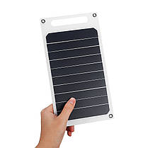 6 В 10 Вт 1.7A Портативный Монокристаллический Солнечная Панель Тонкий и Свет USB Зарядное Устройство Зарядки Power Bank Pad - 1TopShop, фото 3