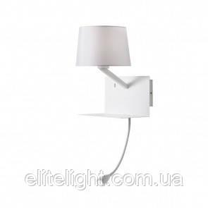 Настенный светильник REDO 01-1807 TOMO White + USB