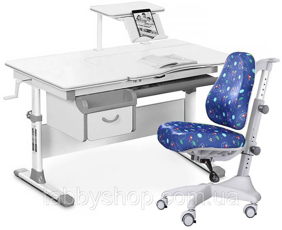 Комплект парта Evo-kids Evo-40 G + кресло Y-528 F