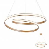 Подвесной светильник REDO 01-1796 TORSION Bronze + Dimmable