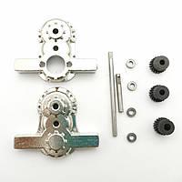 1 комплект все металлические передачи Коробка Набор для WPL B16 B24 B36 C24 JJRC Q65 1/16 RC запчасти для автомобилей-1TopShop