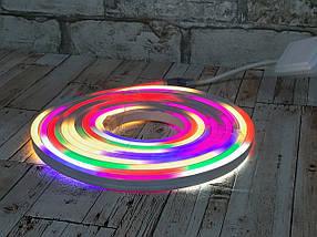 Неоновая лента / гибкий неон 5 метров ( Led лента светодиодная наружная )