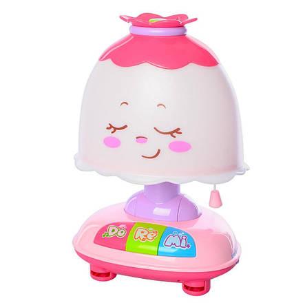Ночник детский на батарейке 25 см музыка, свет, звук, фото 2