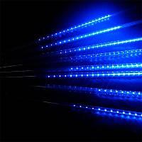 """Светодиодная гирлянда """"Тающие сосульки"""" (Метеоритный дождь) на 240 Led электрическая синяя 3,5 м"""