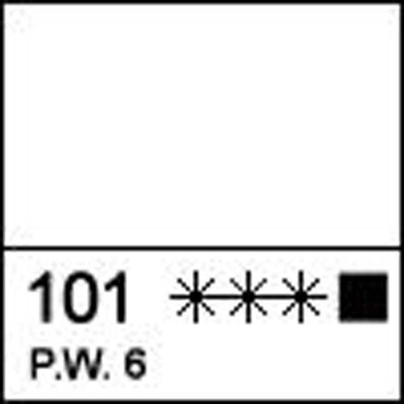 Краска акриловая ЛАДОГА, белила титановые, 100мл ЗХК код: 351332, арт.завода: 2227101