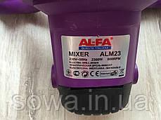 ✔️ Миксер-дрель строительный AL-FA ALM23, фото 2