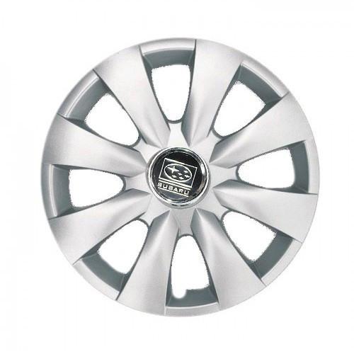 "Колпаки для колес 15"" c логотипом автомобиля 4 шт (SKS 316) Субару"