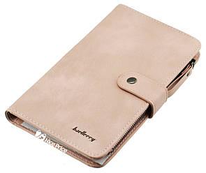 Женский кошелек Baellerry JC224 светло-розовый (пудра)
