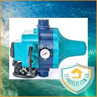 Автоматика Aquatica 779556 (DSK8.2) 1.1 кВт c розеткой. Регулятор давления. Датчик давления. Контроллер. Реле