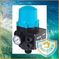 Автоматика Aquatica 779535 (DSK2.1) 1.1 кВт. Регулятор давления. Датчик давления. Контроллер. Реле давления.