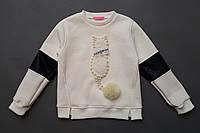 Свитшот  детский утепленный оптом 104-134 рр, фото 1