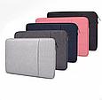 Чехол для Macbook Air/Pro 13,3'' - темно серый, фото 4