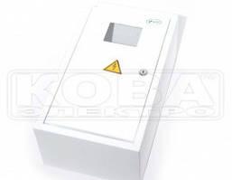 Шкаф монтажний розподільчий металевий ШМР-1Ф-8А-В-електронний (355*185*100)