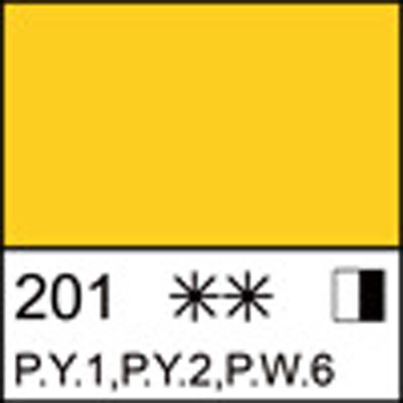 Краска масляная ЛАДОГА кадмий желтый средний (А), 120мл ЗХК код: 351690, арт.завода: 1205201