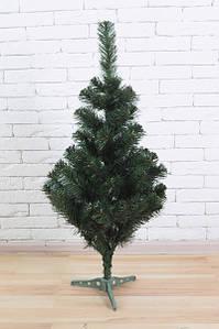 Искуственная елка tree joy 1.3 метра с удобной сборкой и подставкой (Зеленая)