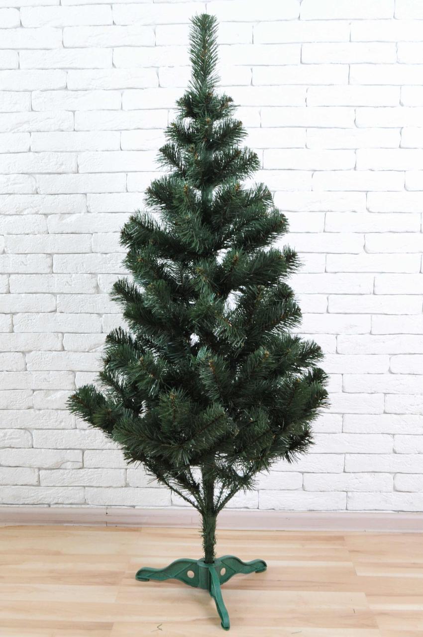 Искуственная елка tree joy 1.5 метра с удобной сборкой и подставкой (Зеленая)