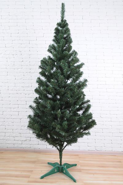 Искуственная елка tree joy 2.5 метра с удобной сборкой и подставкой (Зеленая)