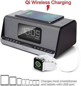 Портативная акустическая Bluetooth док-станция iHome IBN350G with Doc iPhone (IBN350V2G)