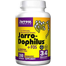 Jarrow Formulas, Jarro-дофилус + ФОС, 200 капсул Ice, офіційний сайт