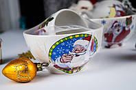 Керамический набор пиала и чашка Новый Год