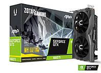 Graphics Card | ZOTAC | NVIDIA GeForce GTX 1660 TI | 6 GB | 192 bit | PCIE 3.0 16x | GDDR6 | Dual Slot Fansink | 1xHDMI | 3xDisplayPort |