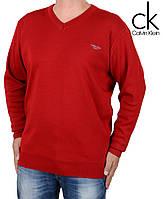 Свитер мужской Calvin Klein-116 красный