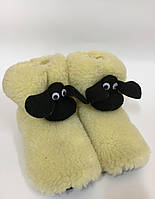 """Чуни из овечьей шерсти """"Шон"""" детские"""