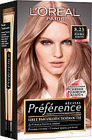 L'oreal Preference краска для волос 8.23 Розовое Золото