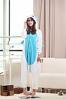 Отзывы! Кигуруми пижама Голубой единорог