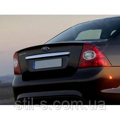 Накладка на багажник Ford Focus 2 седан (2005-2011)