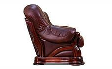 Шкіряний диван Senator, м'який диван, меблі з шкіри, диван, фото 3