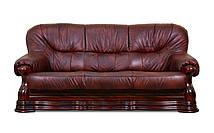 Кожаный диван Senator, мягкий диван, мебель из кожи, диван