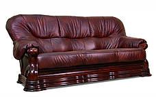 Шкіряний диван Senator, м'який диван, меблі з шкіри, диван, фото 2