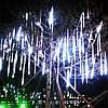Гирлянда Тающие сосульки, 8шт, 12 led, белая, прозрачный провод, 20 см., фото 7