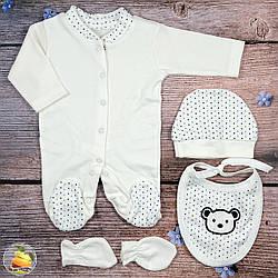Набор одежды для новорожденного Рост: 50- 56 см (9322-1)
